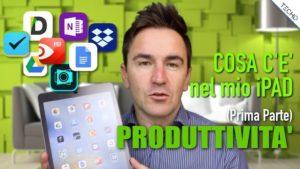 iPad App Produttivita iOS 11
