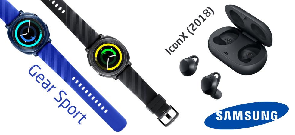 Samsung Gear Sport IconX 2018