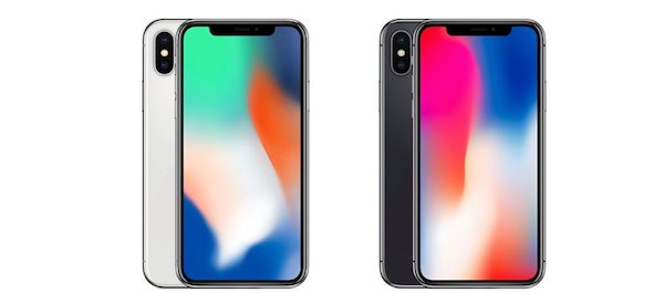 iPhone X colori