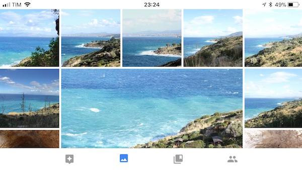 Google Foto Gallery Spazio