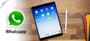 Whatsapp iPad iOS