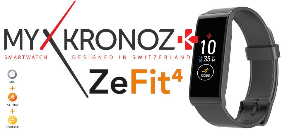My Kronoz ZeFit4