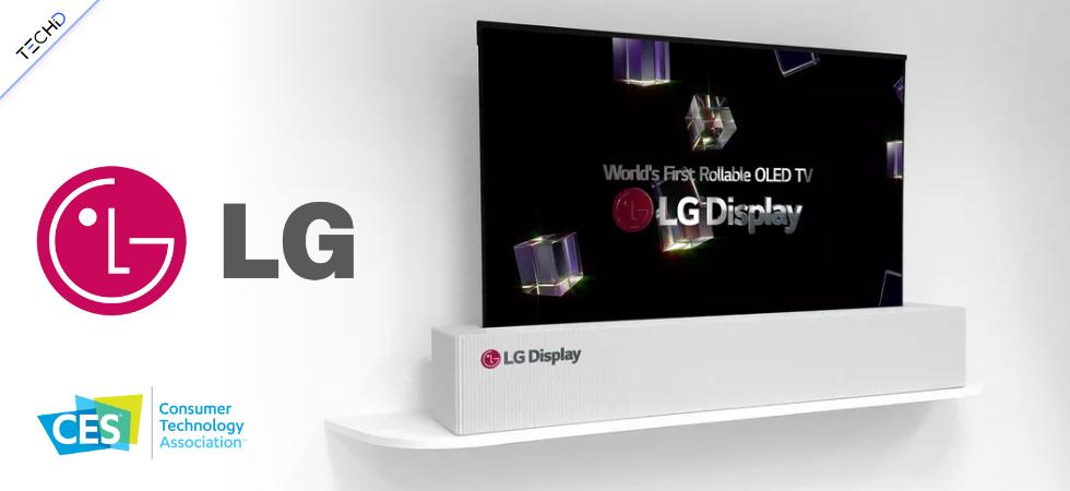 LG OLED 65 CES 2018