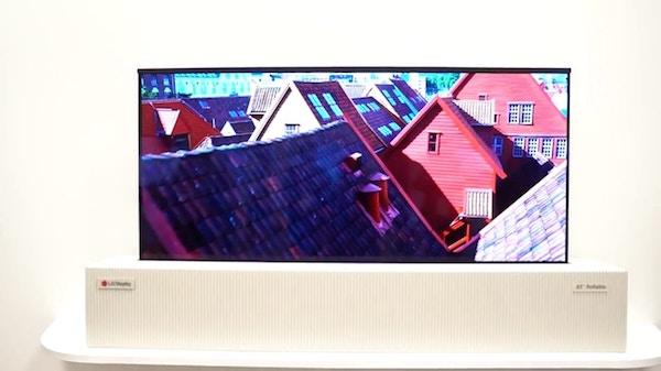 LG OLED arrotolabile