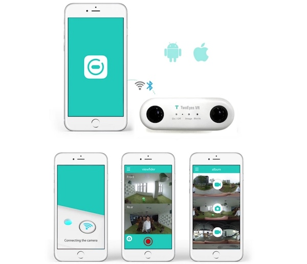 TwoEyes VR app