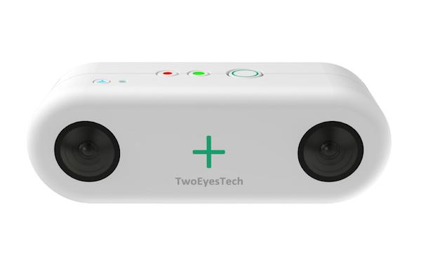 TwoEyes VR camera