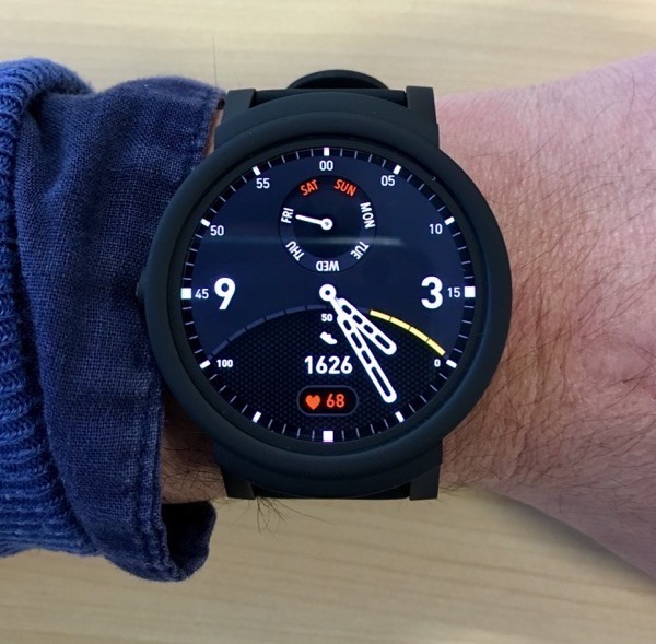 TicWatch E display