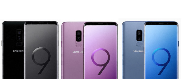 Galaxy S9 S9+ Colors