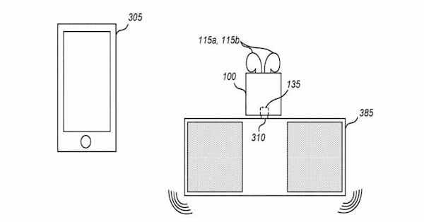 AirPods custodia speaker brevetto