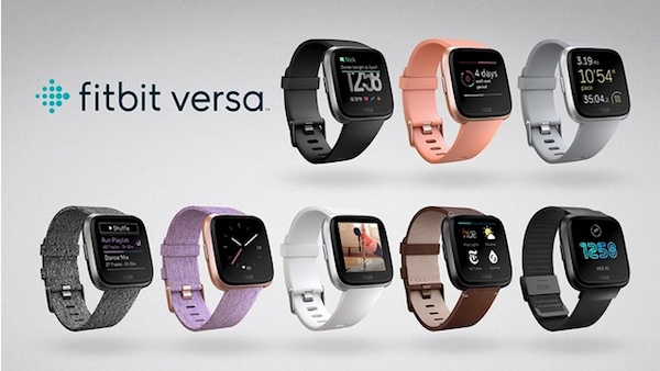 Fitbit Versa colors