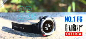 NO.1 F6 Smartwatch GearBest Italia