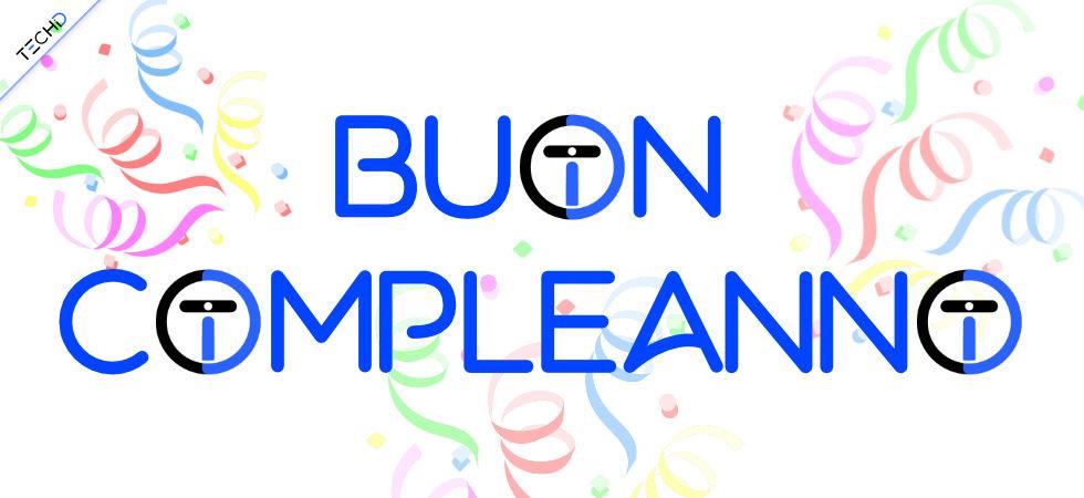 TechID 1 anno Happy birthday