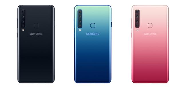 Samsung Galaxy A9 colors