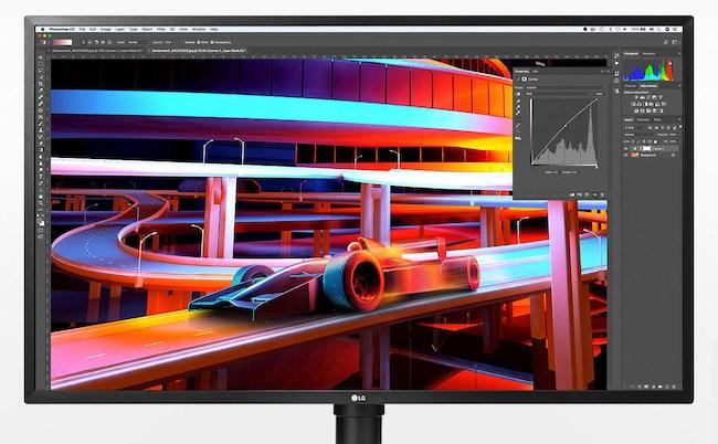 LG 4K Monitor HDR