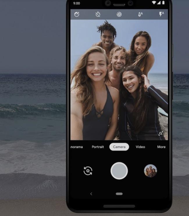 Pixel 3 Group Selfie