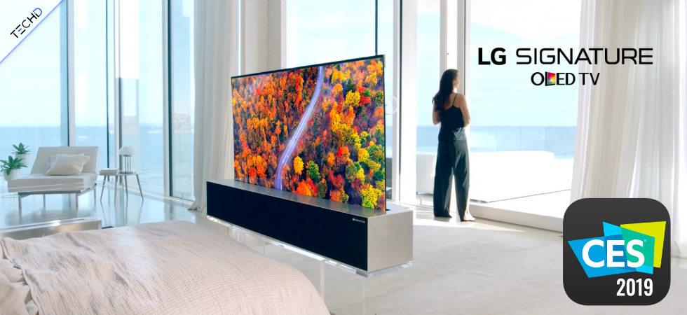 LG TV R OLED CES 2019