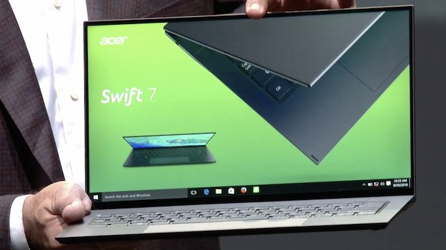 Acer Swift 7 CES 2019