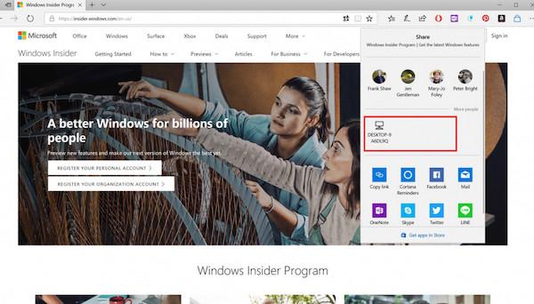 Microsoft Near Share