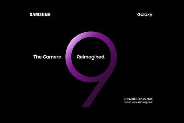 Galaxy S9 invito