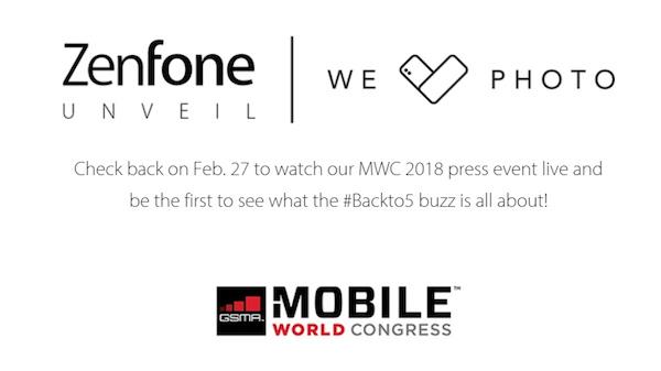 Asus ZenFone5 MWC2018