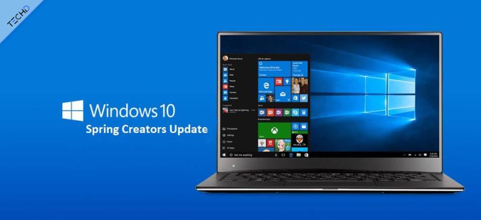 Windows 10 aggiornamento