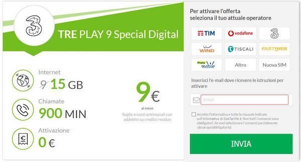 TRE Play 9 Digital