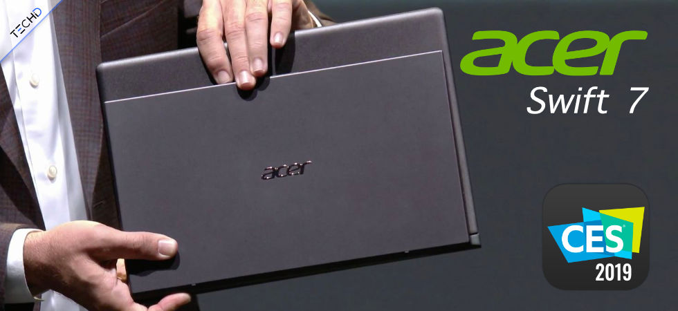 CES 2019 Acer Swift 7