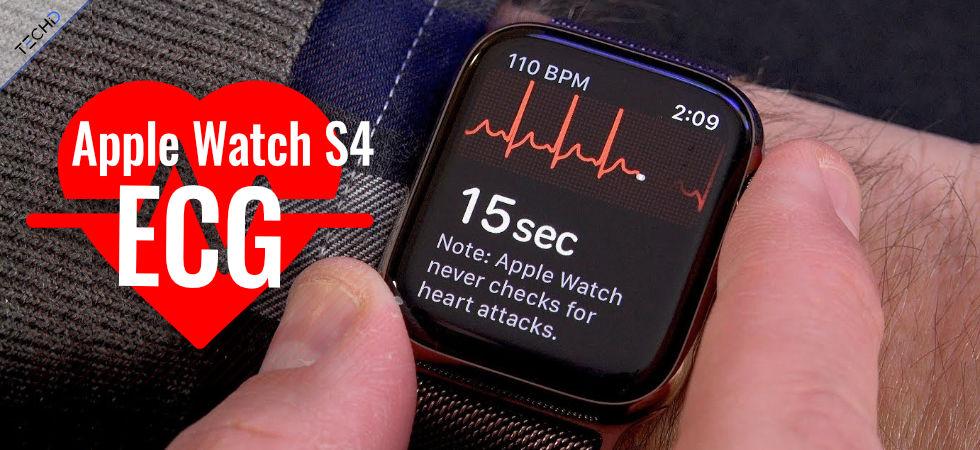 Apple Watch Serie 4 ECG