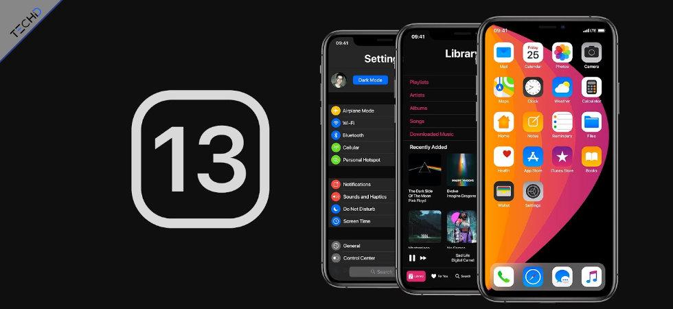 iOS 13 WWDC19