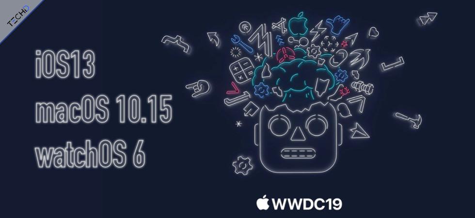 iOS 13 WWDC2019