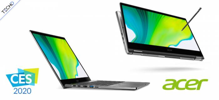 CES2020 Acer Spin